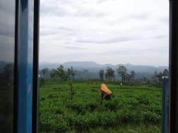 The view from Kandy to Nuwara Eliya