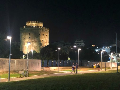 The White Tower by night